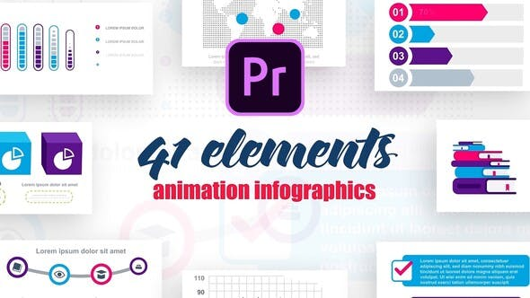 Thumbnail for Infographics Vol.8 for Premier Pro