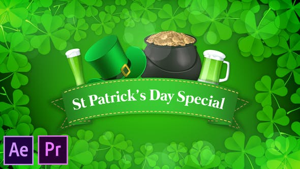 Thumbnail for St Patrick's Day Special Promo - Premiere Pro