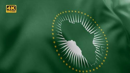 African Union Flag - 4K
