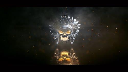 Metallic Light Logo Reveal