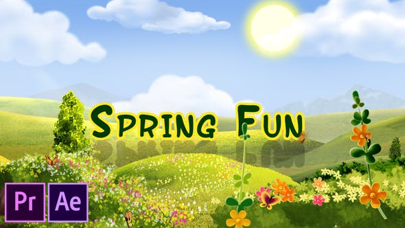 Cover Image for Spring Fun - Premiere Pro