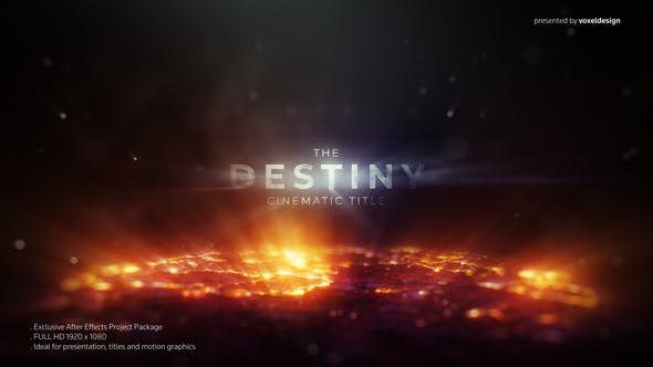 Thumbnail for The Destiny Cinematic Title