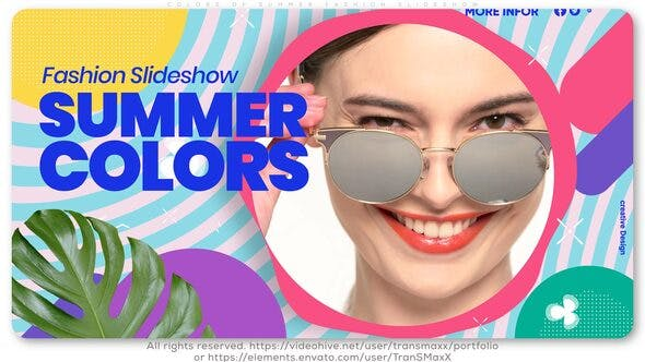 Thumbnail for Colors of Summer Fashion Slideshow