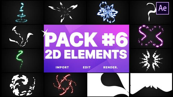 Thumbnail for Elements Pack 06 | After Effects