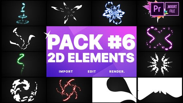 Thumbnail for Elements Pack 06 | Premiere Pro MOGRT