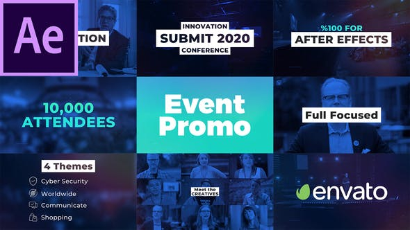 Thumbnail for Event Promo I Conference for After Effects