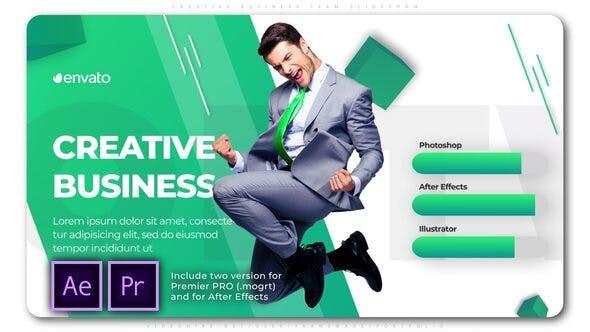 Thumbnail for Creative Business Team Slideshow