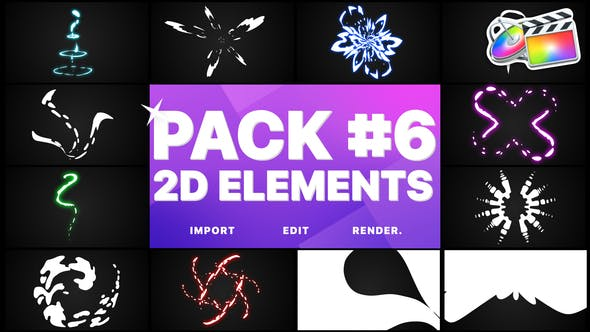 Thumbnail for Elements Pack 06 | FCPX