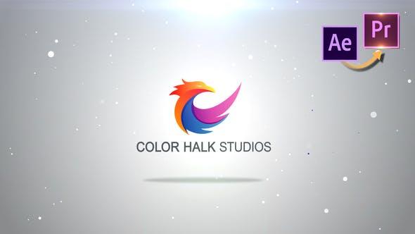 Thumbnail for Particles Logo Revealer - Premiere PRO