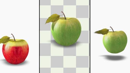 3D Äpfel