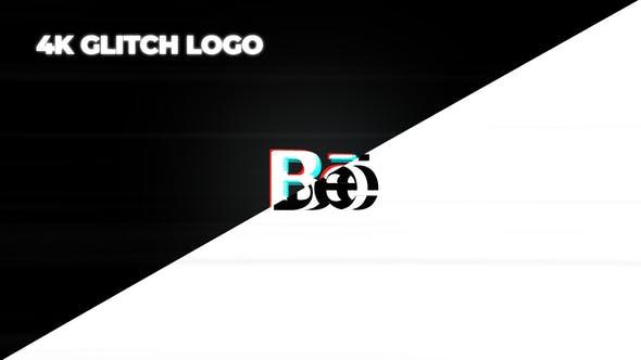 Thumbnail for Minimal Glitch Logo
