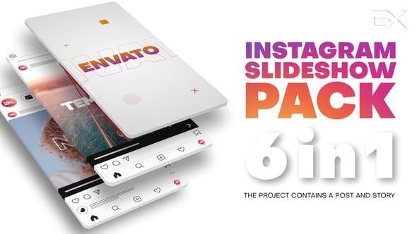 Thumbnail for Pack de diaporama Instagram
