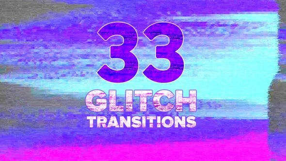 Thumbnail for Glitch Transitions Pack