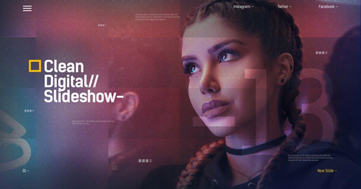 Digital Slideshow / Corporate Presentation / IT Technology Opener / Hi-Tech Futuristic