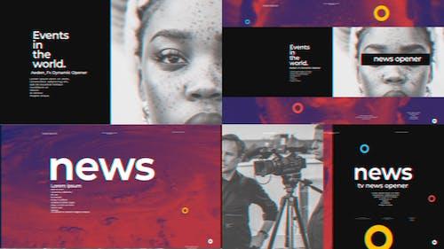 Minimal Tv News Opener Ver 0.3