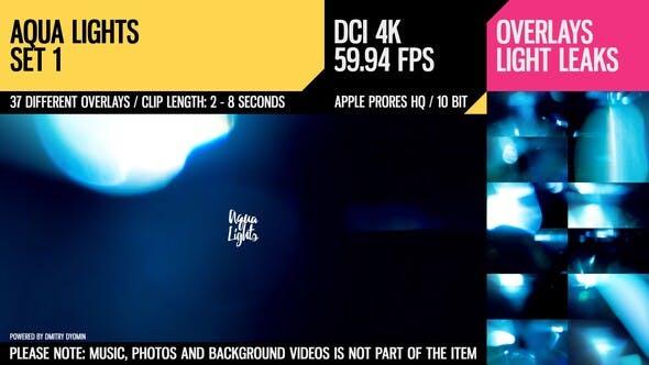 Thumbnail for Aqua Lights (4K Set 1)