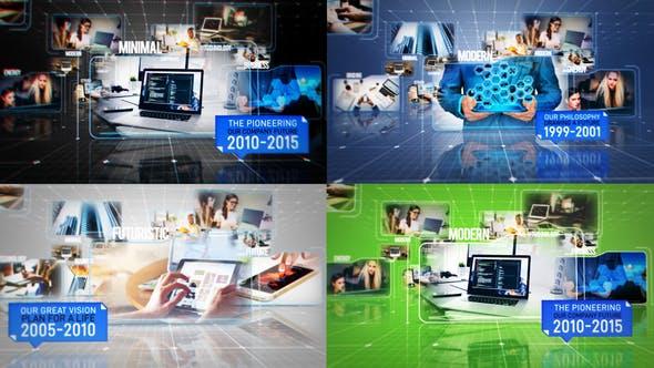 Thumbnail for Business Hi-Tech Slideshow Promo