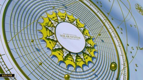 Solar System Opener/ Educación/Ciencia/Mapa Geográfico Antiguo/Globo Mecánico Antiguo/Sol/Estrellas