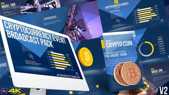 Cryptocurrency Event Broadcast Pack v2