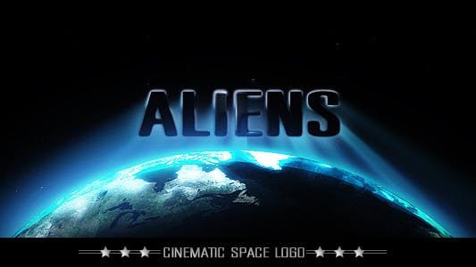 Thumbnail for Cinematic Space Logo or Title