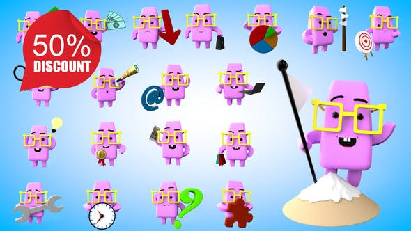 Muffy 3D Icons