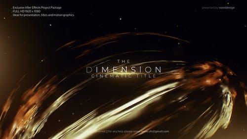 Dimension Cinematic Title