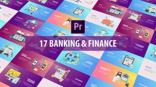 Banking and Finance - Flat Animation (MOGRT)