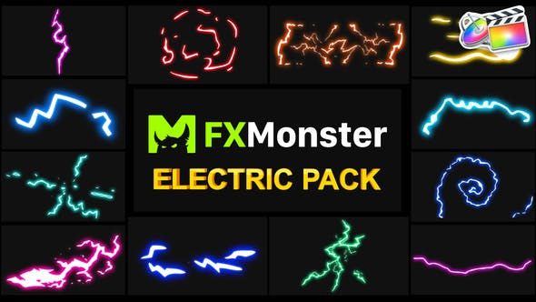 Thumbnail for Electricity Elements | FCPX