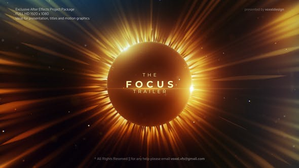 Thumbnail for Focus Cinematic Trailer