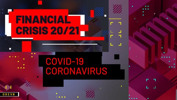 Thumbnail for Crisis financiera/ Coronavirus COVID-19/ Análisis de negocios/ Virus/ Blog tecno/ Youtube Intro/ TV/ I
