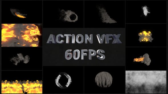 Thumbnail for Pack Action VFX | Premiere Pro MOGRT