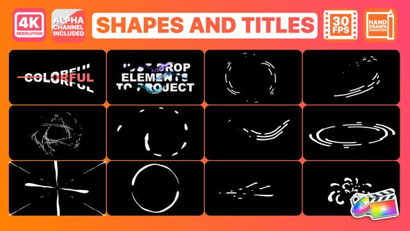 Thumbnail for Shapes And Titles | FCPX