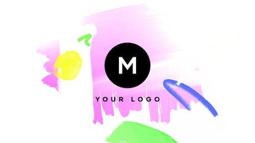 Hand Drawn Brush Logo