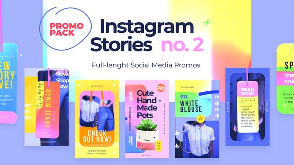 Thumbnail for Instagram Stories Promos no. 2