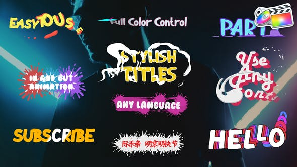 Thumbnail for Stylish Titles | FCPX