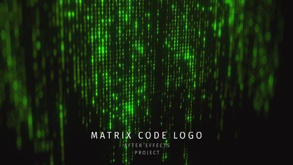 Matrix Code Logo