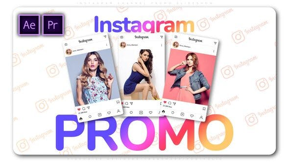Thumbnail for Instagram Channel Promo Slideshow