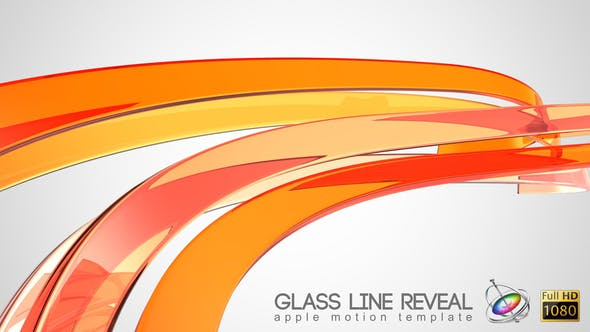 Thumbnail for Glass Line Reveal - Apple Motion