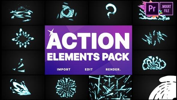 Thumbnail for Action Elements | Premiere Pro MOGRT