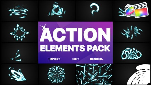 Thumbnail for Action Elements | FCPX