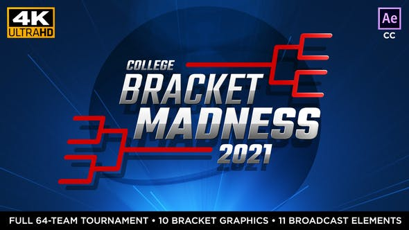 Cover Image for College Basketball Bracket Madness | Tournament Bracket Package