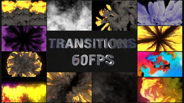 Thumbnail for Transiciones VFX de acción   Premiere Pro MOGRT