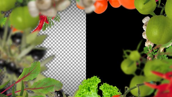 Thumbnail for Vegetable Frame And Transitions