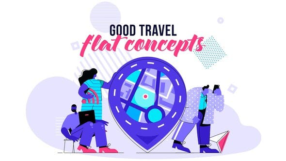 Thumbnail for Good Travel - Flat Concept