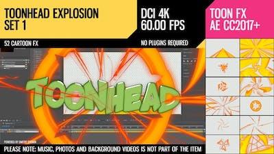 Toonhead (Explosion FX Set 1)