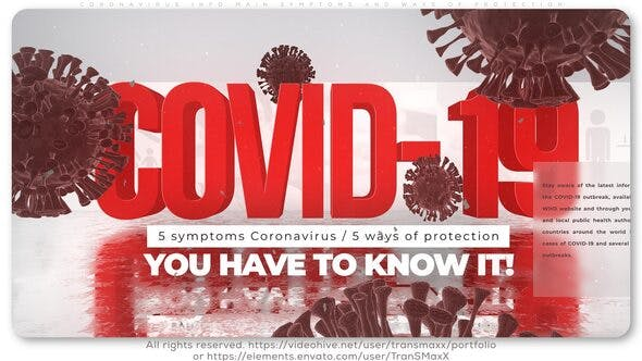Thumbnail for Coronavirus Info_Main Symptoms and Ways of Protection