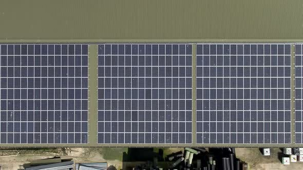 Thumbnail for Aerial View of Solar Panels installed on a Roof