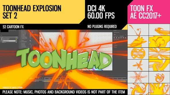 Thumbnail for Toonhead (Explosion FX Set 2)
