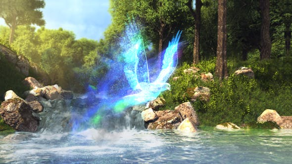 Thumbnail for Logo del río encantado