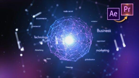 Thumbnail for Hitech Logo Revealer - Premiere PRO